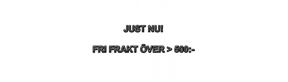 Fri Frakt över 500:- inrikes