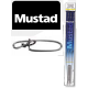 Mustad Wire Leader 49St. W/Stay Lock Snap 30cm-12""